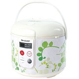 SHARP Rice Cooker Touch Panel [KS-T18TL] - Green - Rice Cooker